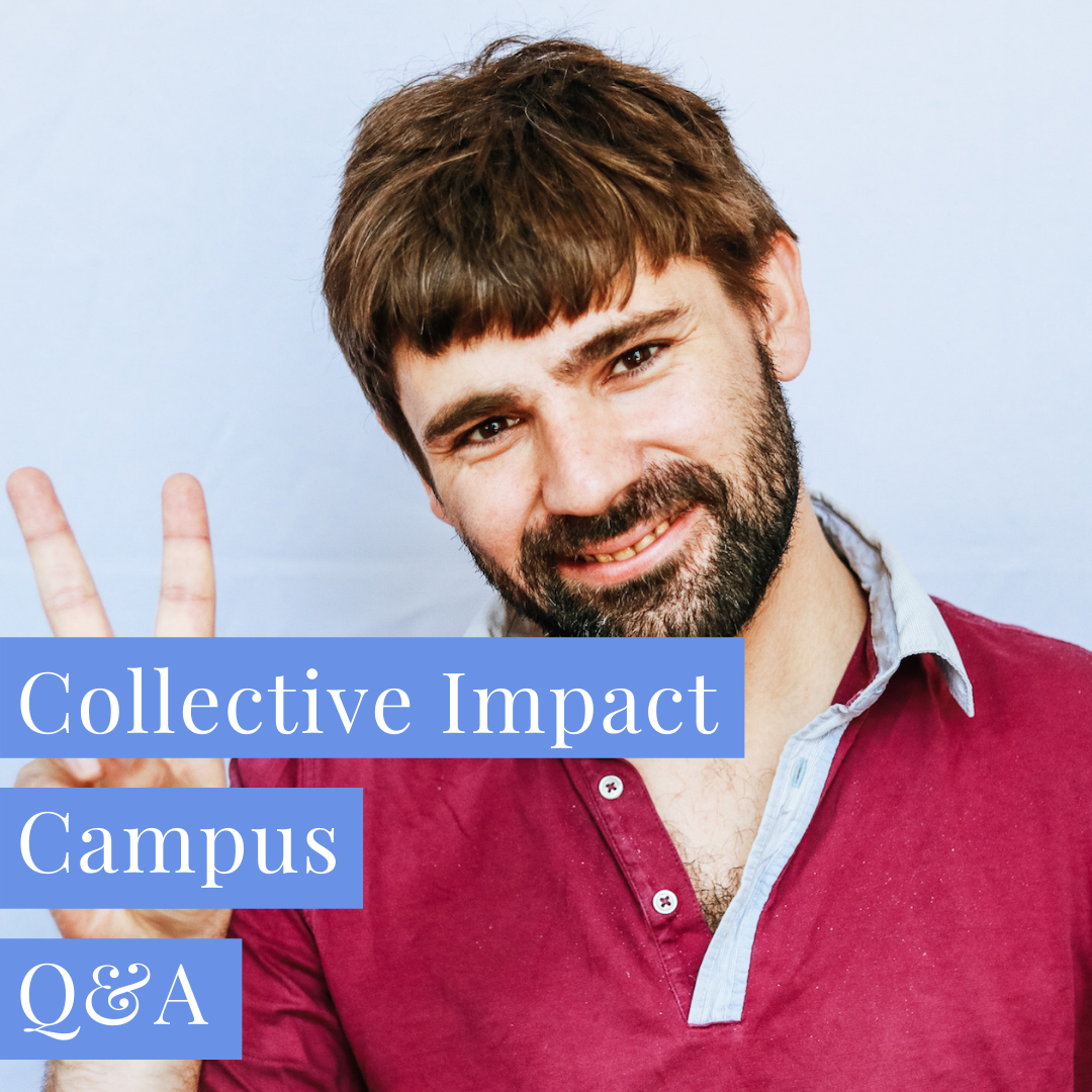 Baptiste shares insights on the Collective Impact Campus