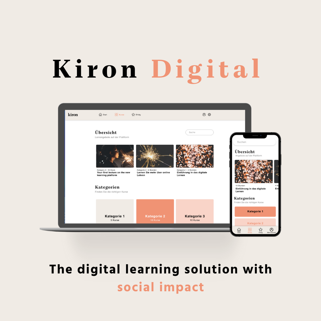 Kiron Digital is a digital learning solution with social impact