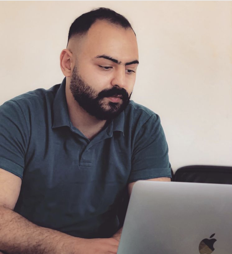 Kiron student Sultan uses online learning to enter the job market
