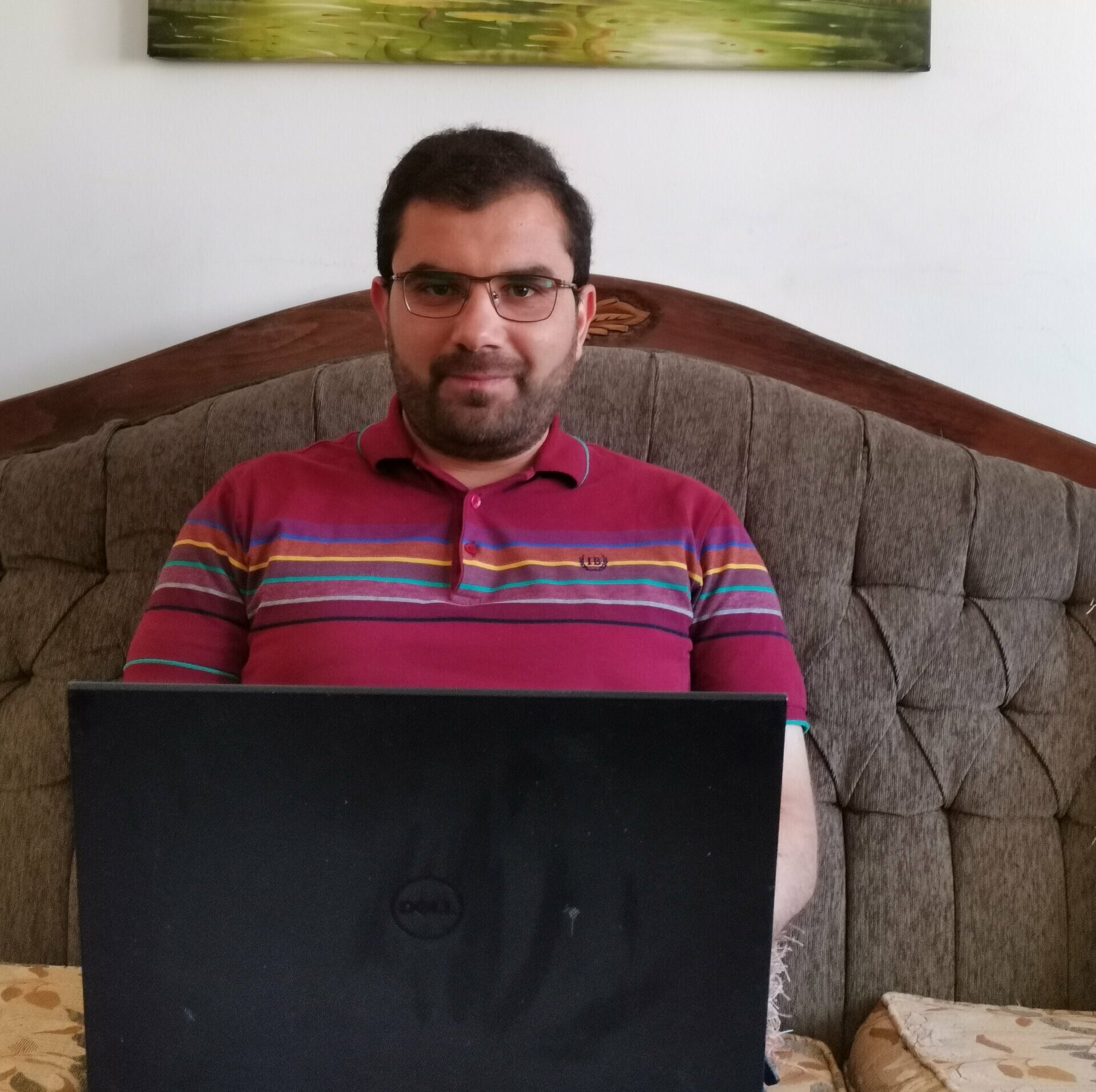 Kiron student Zaher continues skill building through online learning